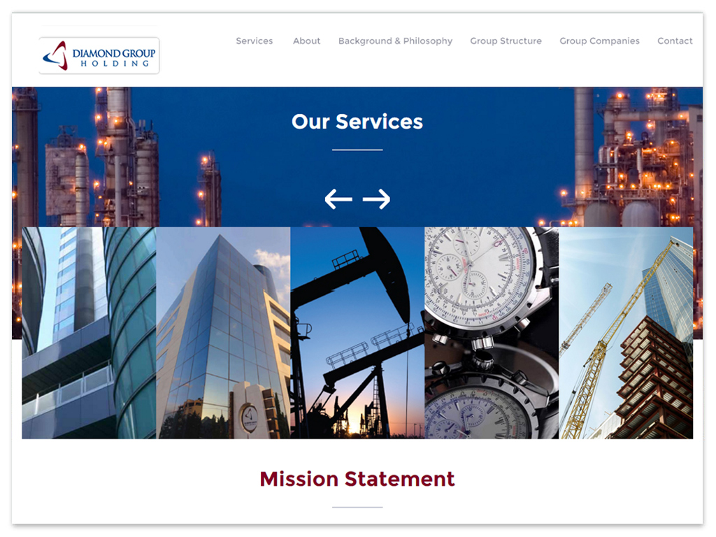 Diamond Group | Web Solutions