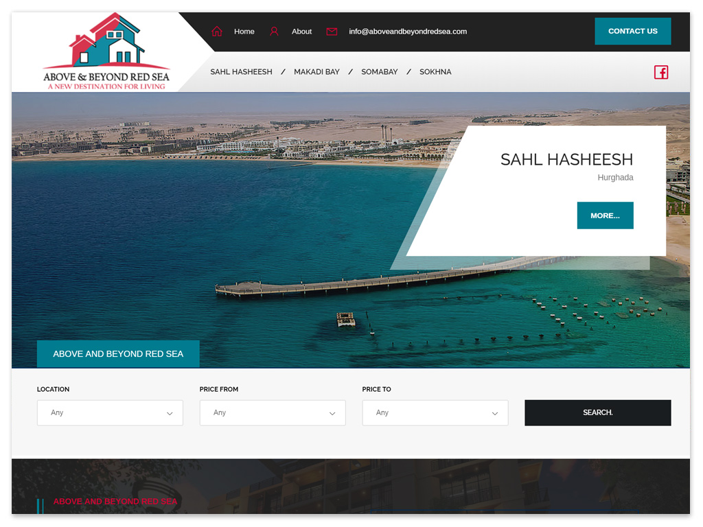 Above And Beyond Red Sea | Web Solutions