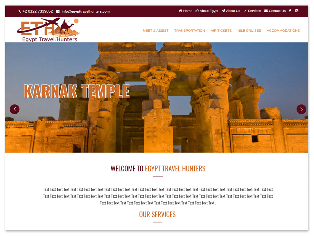 EGYPT TRAVEL HUNTERS