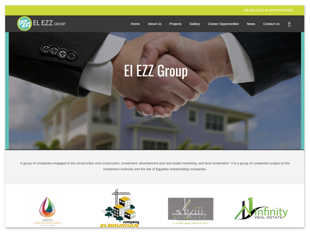 El Ezz Group | Web Solutions