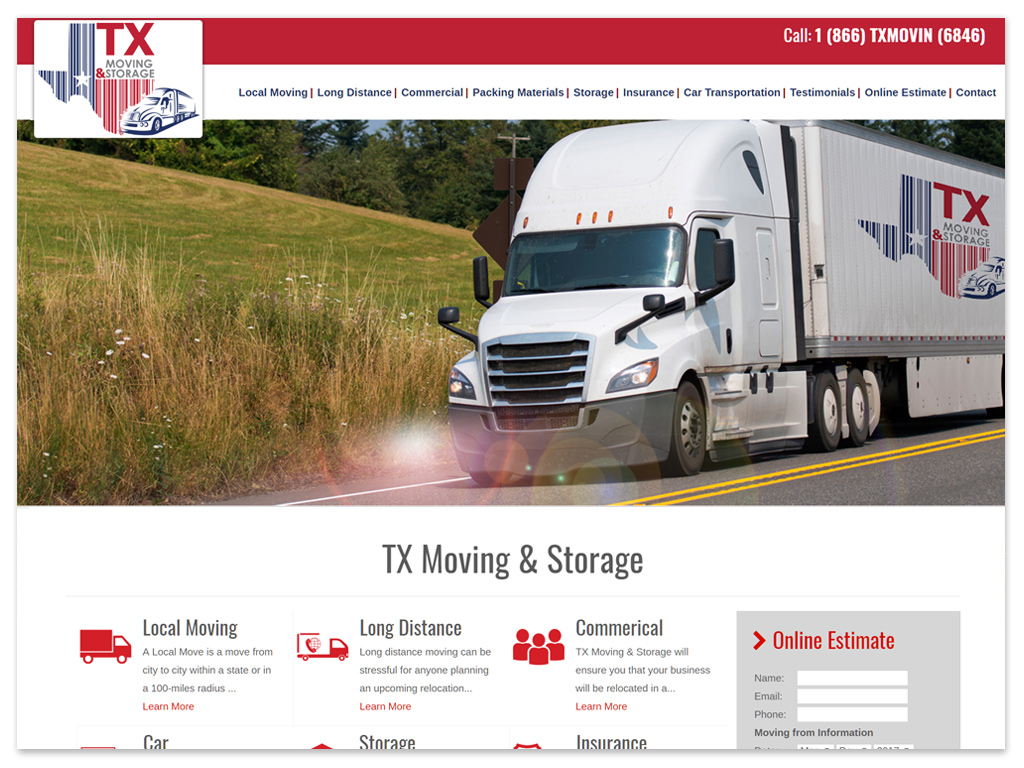 TX Moving & Storage