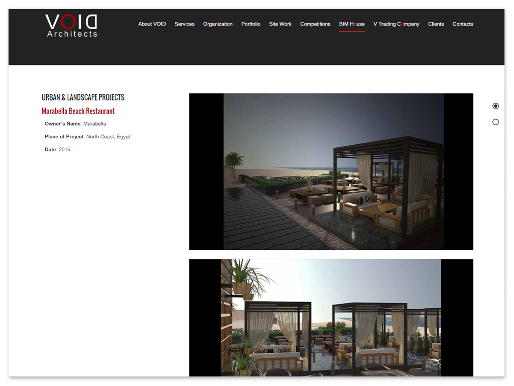VOID Architects | Web Solutions